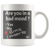 Are You In A Bad Mood Mug - Audio Swag