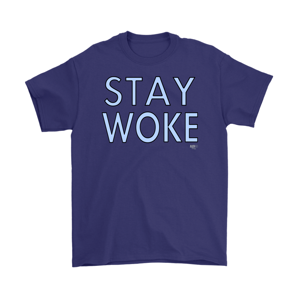 Stay Woke Mens T-shirt - Audio Swag