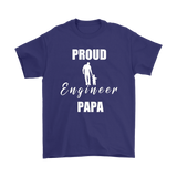 Proud Engineer  Papa Mens Tee - Audio Swag