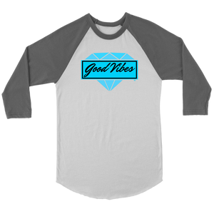 Good Vibes Diamond Raglan - Audio Swag
