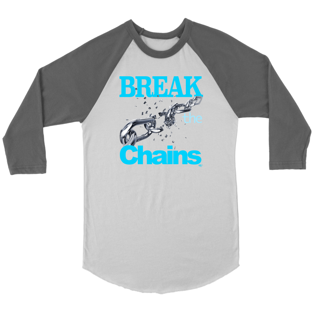 Break The Chains Raglan - Audio Swag
