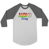 Audio Swag Pride Logo Raglan - Audio Swag