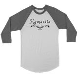 Mamacita Scroll Raglan - Audio Swag