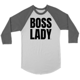 Boss Lady Raglan - Audio Swag