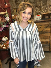 Load image into Gallery viewer, SALE ~ The One Top With the Stripes