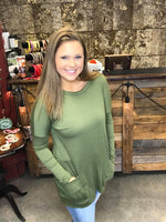 SALE ~ The Tunic with Long Sleeves S-3XL