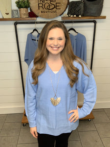 SALE ~ The Spring Blue Top