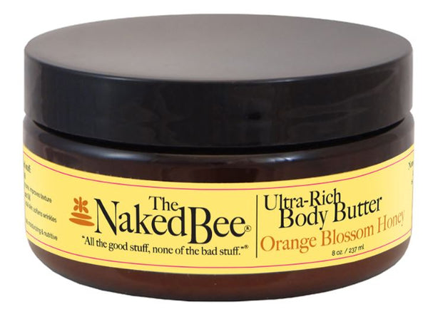 8 oz. Orange Blossom Honey Ultra-Rich Body Butter