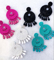 NEW ~ Emma's Beaded Drop Earrings