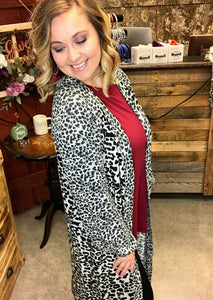 SALE ~XL The Cheetah Girl Cardigan