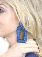 Load image into Gallery viewer, Rocker Chic Beaded Statement Earrings