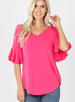 Waterfall Sleeve Top