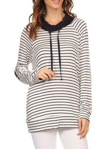 The Nautical Stripe Hoodie