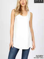 Sleeveless Layering Tunic