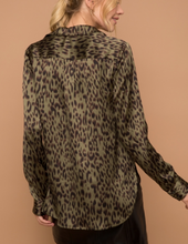 Load image into Gallery viewer, SALE ~ The Satin Leopard Print Button Up