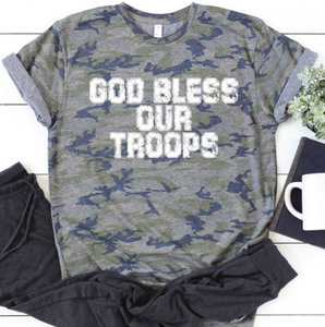 God Bless Our Troops PREORDER