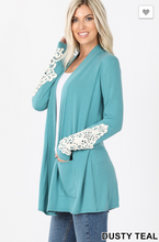 Load image into Gallery viewer, The Cardigan With A Little Lace