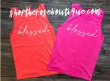 Blessed Neon Tanks