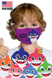 Baby Shark Kids Face Mask