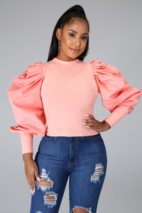 LOLA PUFF SLEEVES TOP