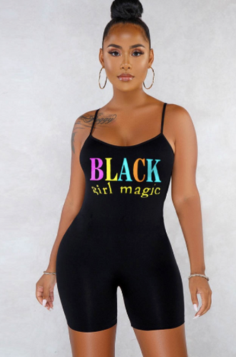 Black girl magic romper