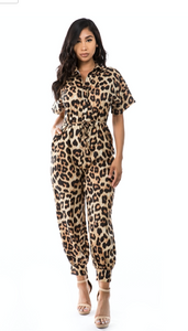 CINDY LEOPARD JUMPSUIT