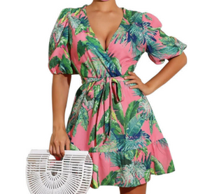 Floral Print Casual Dress
