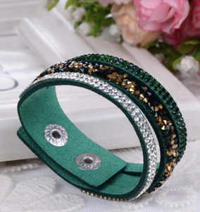 SO GLAM RHINESTONE FASHION BRACELETS