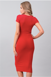 My simple red dress - lotusglam