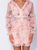 Rosie Floral Dress - lotusglam