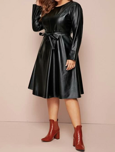 Venzy Plus Faux Dress