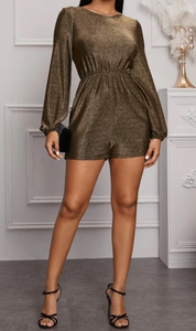 Christy Sexy Back Glamorous Romper