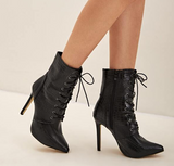 Zaina Stiletto Ankle Boots