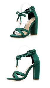 Hope Lace-Up Fashion Sandals - lotusglam