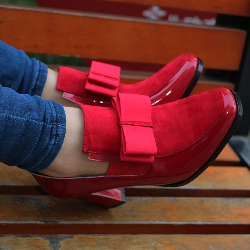 Arlene Bow Shoes