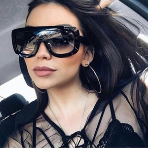 Emely Oversized Sunglasses - lotusglam
