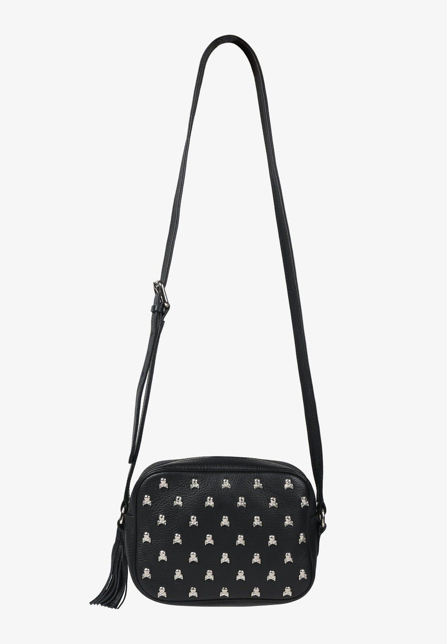 BAG WITH ALL-OVER SKULL PRINT