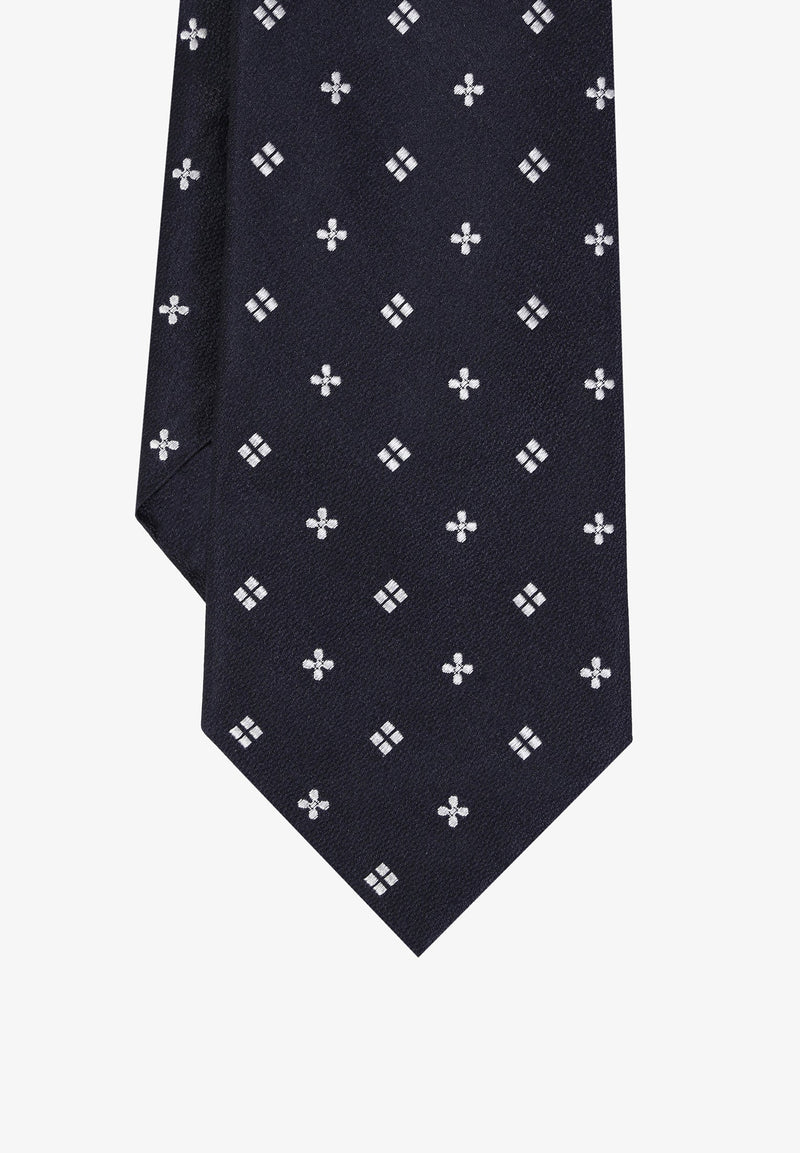 TIE WITH MINI CROSSES