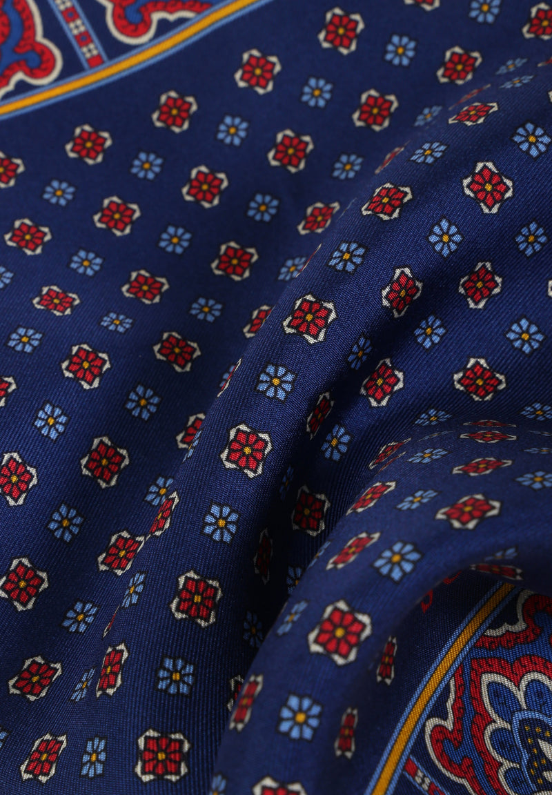 MOTIF PRINT POCKET SQUARE