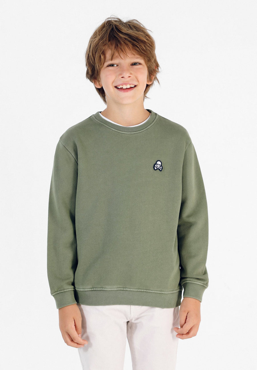 SWEATSHIRT WITH BACK PRINT