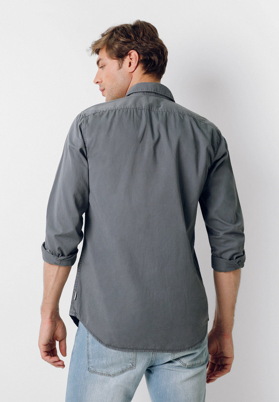 BASIC COTTON SHIRT