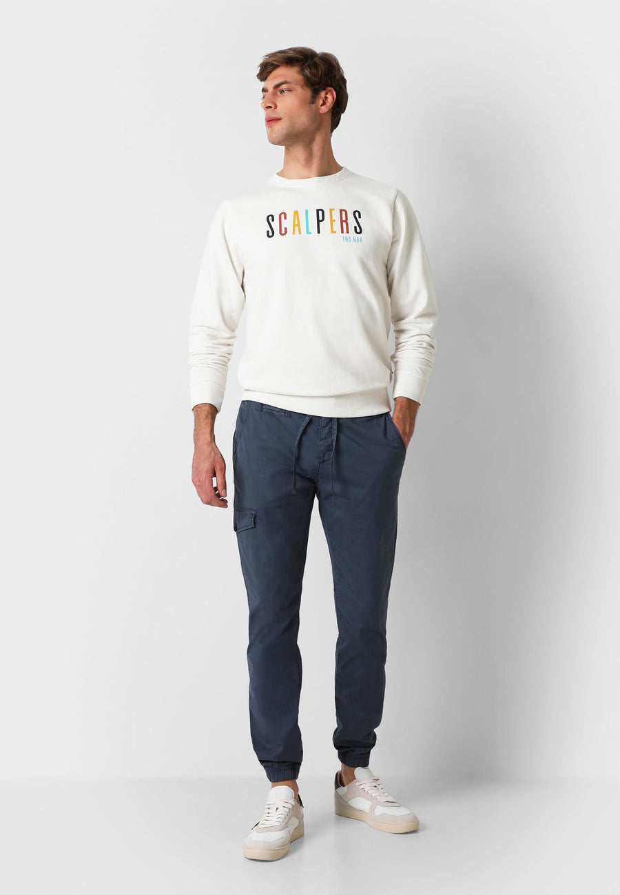 JOGGING-STYLE CARGO TROUSERS
