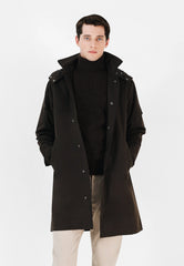PARKA WITH DETACHABLE HOOD