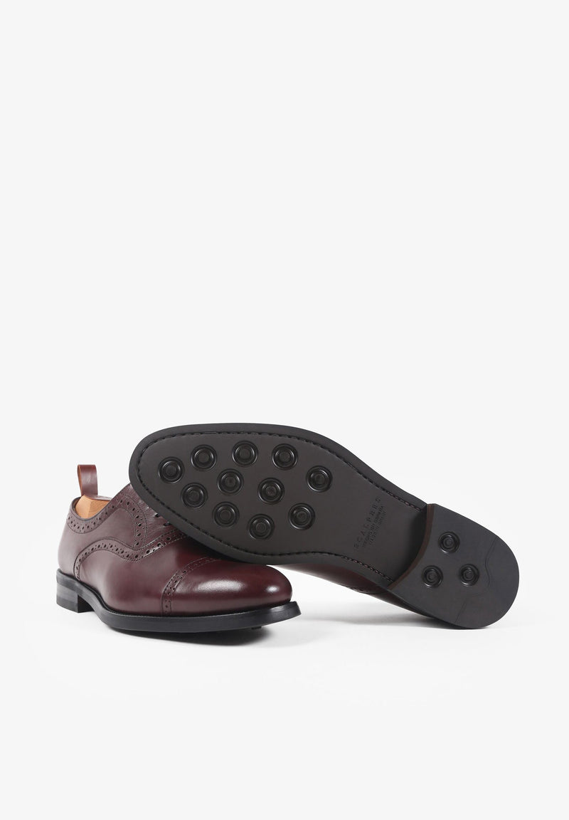 OXFORD SHOES WITH PERFORATIONS