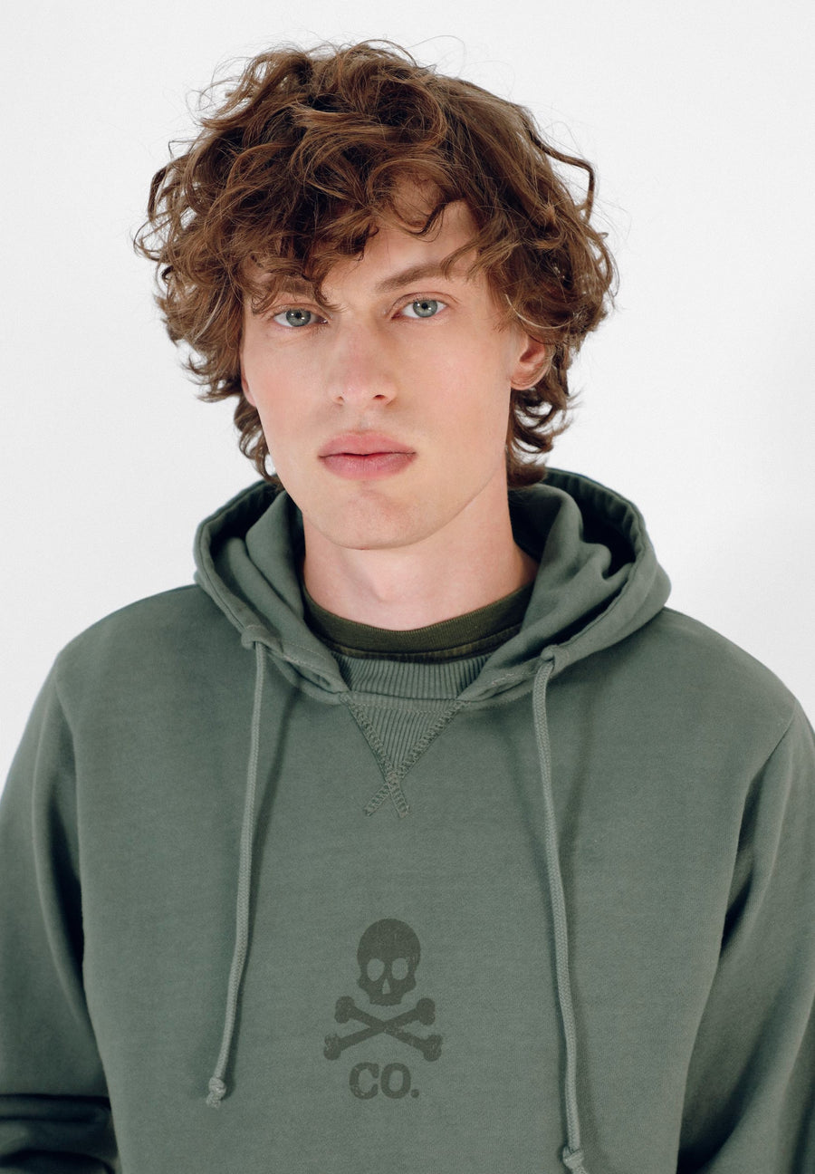 HOODIE WITH SKULL
