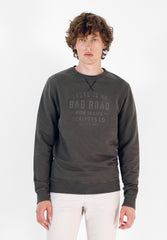 SWEATSHIRT WITH NECK STITCHING