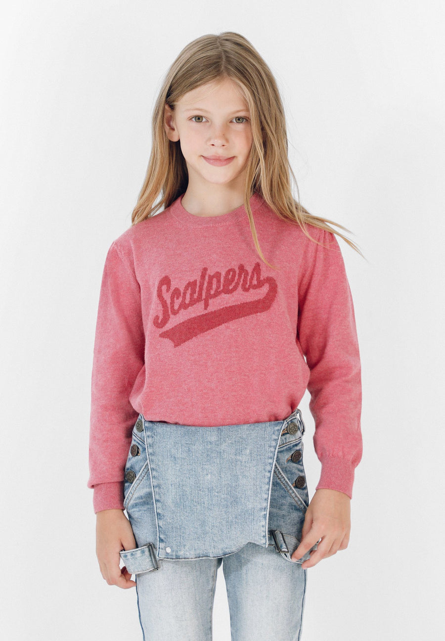 SCALPERS LOGO SWEATER