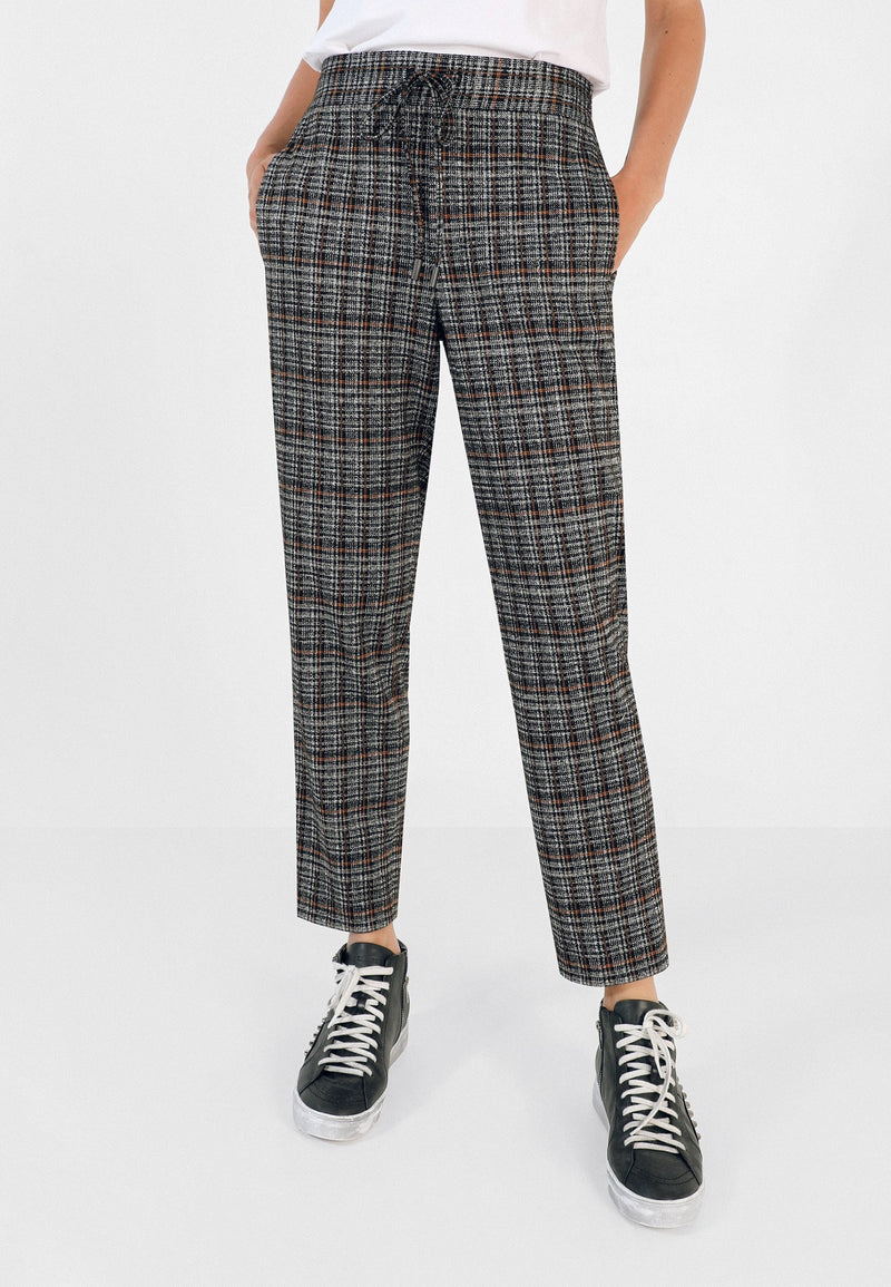KNIT JOGGING-STYLE TROUSERS