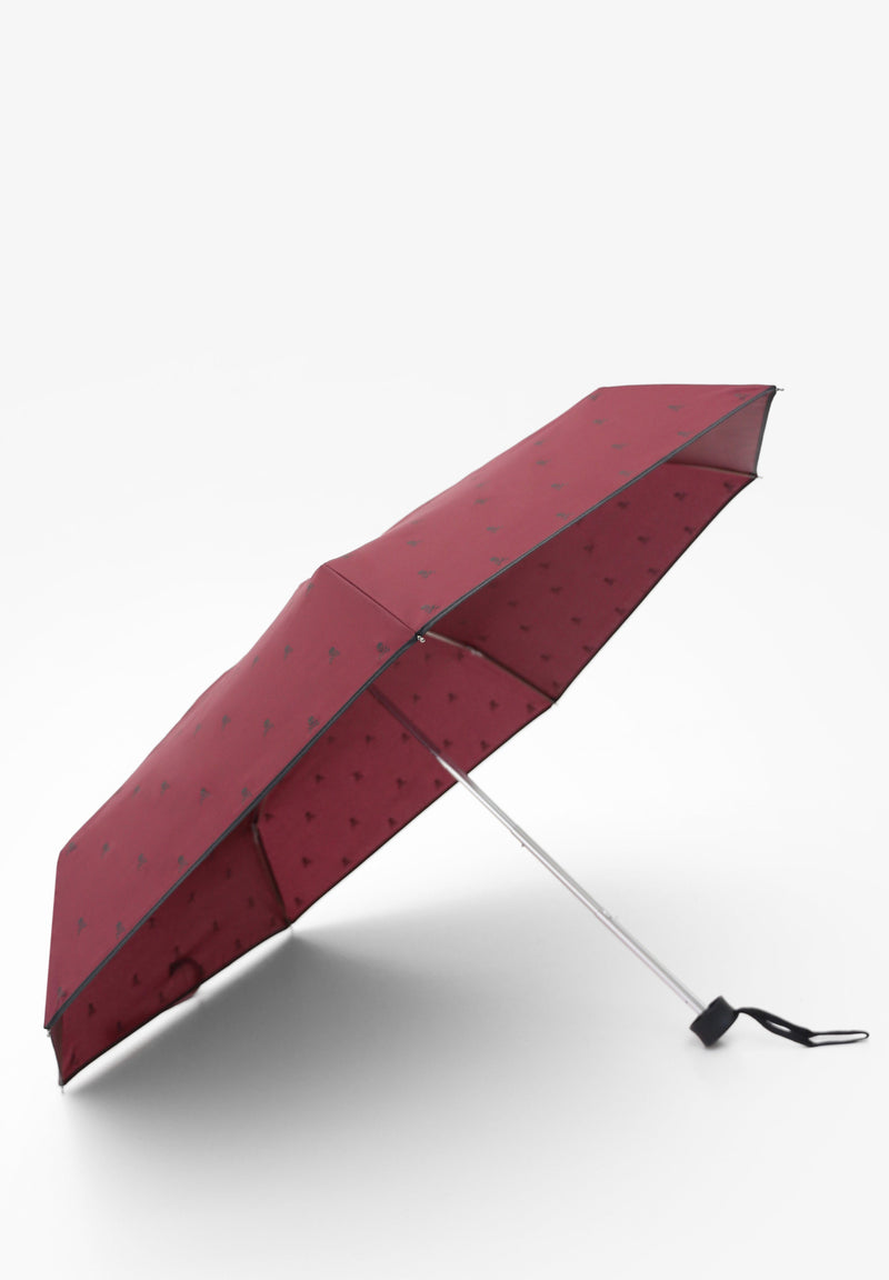 COLLAPSIBLE UMBRELLA WITH SKULLS