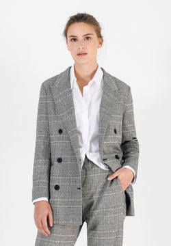 LUREX CHECK BLAZER